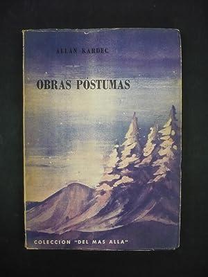OBRAS PÓSTUMAS.: KARDEC, ALLAN.