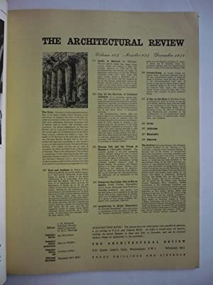 THE ARCHITECTURAL REVIEW. nº 624. The architecture of Australia.