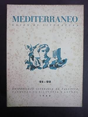 MEDITERRÁNEO. GUIÓN DE LITERATURA. Nº del 1