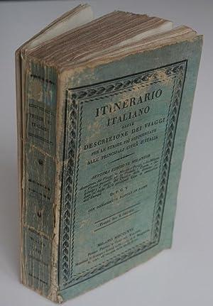 Itinerario italiano ossia Descrizione dei viaggi per: Vallardi, Pietro