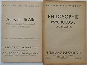 Antiquariats-Katalog/Ferdinand Schöningh. Osnabrück.
