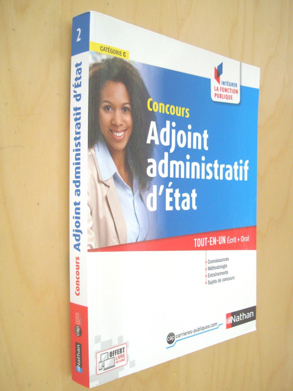 caeddf623bc Concours adjoint administratif d Etat catégorie C   Tout-en-un