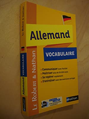 Vocabulaire Allemand - Robert & Nathan