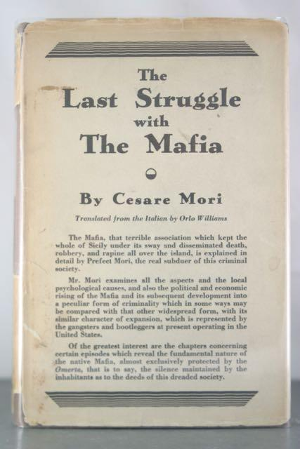 The Last Struggle with the Mafia: Mori, Cesare
