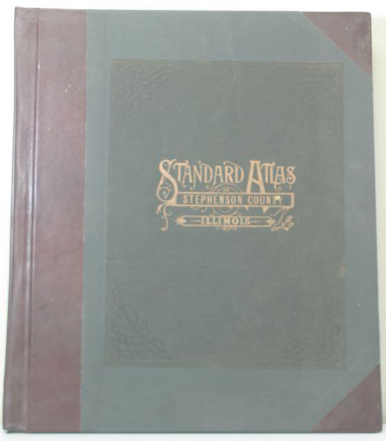 Standard Atlas of Stephenson County, Illinois, including a Plat Book: Ogle, George