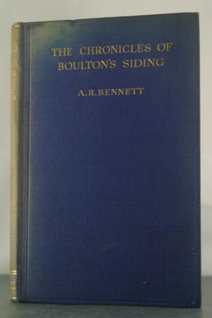The Chronicles of Boulton's Siding: Bennett, Alfred Rosling