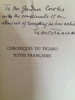Chroniques du Figaro: Suites Francaises: Cotnareanu, Leon