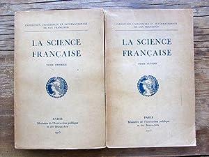 La Science Francaise [2 Tomes / Two Volumes]: Bergson, Durkheim, et al.