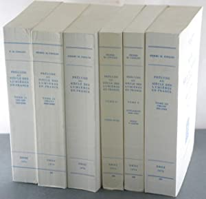 Prelude au Siecle des Lumieres en France [6 Volumes, complete]: Conlon, Pierre