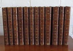 Oeuvres badines [12 Volumes]: Caylus [Anne Claude Phillippe, Comte de]