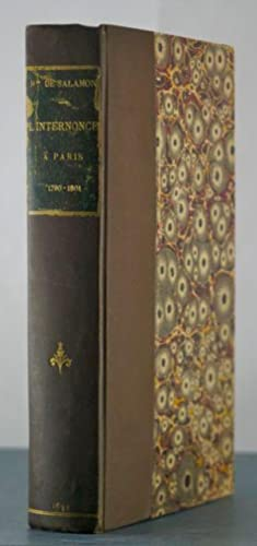 Memoires Inedits L'Internonce a Paris 1790-1801: Salamon, Mgr. de