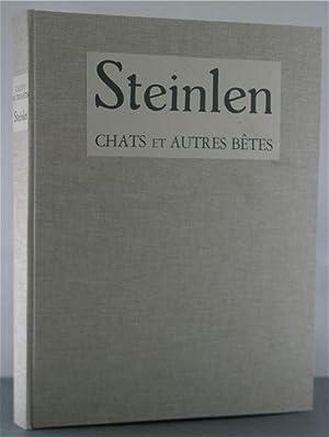 Steinlen: Chats et Autres Betes: Lecomte, Georges & Steinlen, Theophile-Alexandre (illustrator)