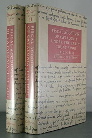 Fiscal Accounts of Catalonia Under the Early Count-Kings, 1151-1213 (2 Volume Set)