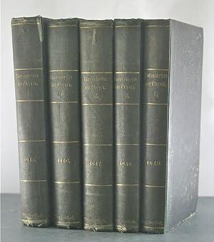 Die Forschritte der Physik, 1845-1849 [5 Bande / 5 Volumes]: Karsten, G., Faraday, Pasteur, ...