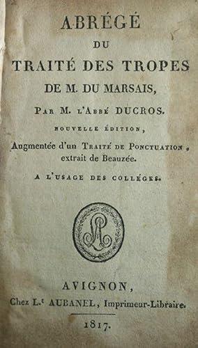 Abrege du Traite des Tropes: Du Marsais, Cesar