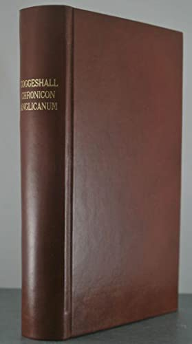 Radulphi de Coggeshall Chronicon Anglicanum: Josephus Stevenson (editor)