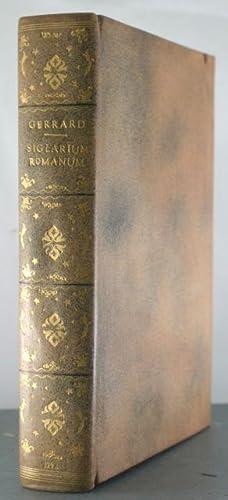 Siglarium Romanum; Sive Expicaco Notarum ac Literatum: Gerrard, Johnaes