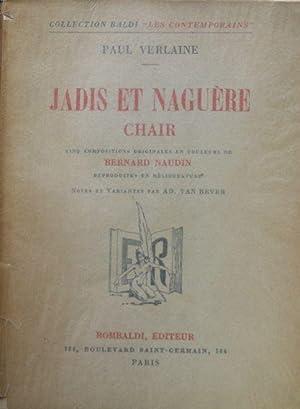 Jadis et Naguere Chair: Verlaine, Paul & Bernard Naudin