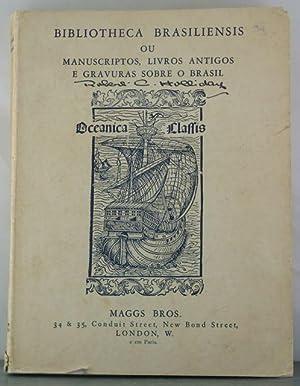 Bibliotheca Brasiliensis our Manuscriptos, Livros Antigos e Vravuras Sobre o Brasil: Bros., Maggs