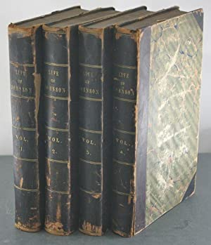 Life of Samuel Johnson, L.L.D. [Four Volumes, Complete, with Legh Richmond's Bookplates]: ...