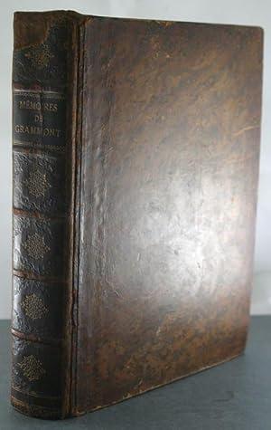 Memoires du comte de Grammont, par la C. Antoine Hamilton. Edition ornee de LXXII portraits, graves...