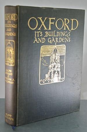 Oxford: Its Buildings and Gardens: Durand, Ralph & William Wildman (Illustrator)