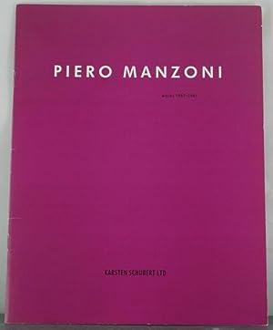 Piero Manzoni: MANZONI, PIERO). Codognato, Mario