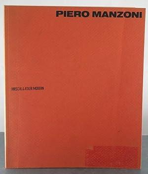 Piero Manzoni: November 8-December 1, 1990: Manzoni, Piero