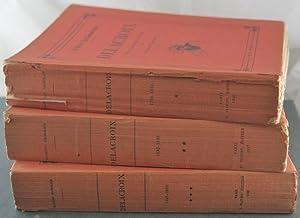Delacroix: Peintre, Graveur, Ecrivain [3 Volumes].: Escholier, Raymond