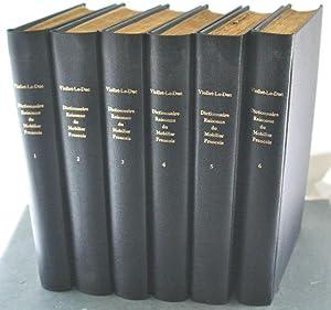 Dictionnaire Raisonne Du Mobilier Francais De L'Epoque Carlovingienne a La Renaissance [6 ...