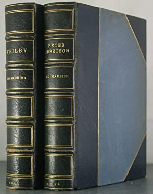 Trilby & Peter Ibbetson [Two Volumes, Finely Bound]: Du Maurier, George [Bindings]
