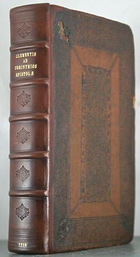 Greek Title].Sancti Clementis Romani ad Corinthios Epistolae Duae: Clement, Pope