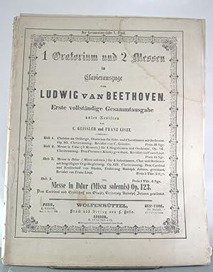 Messe in Ddur (Missa solemnis) Op. 123: Beethoven, Ludwig Van