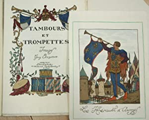 Tambours et Trompettes. Images de Guy Arnoux. [Incomplete, with 6 of 10 Plates]: Arnoux, Guy
