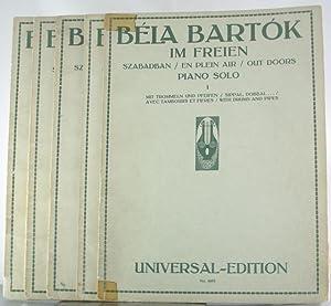 Im Freien: Szabadban / En Plein Air / Out Doors. Piano Solo. [Five Volumes / 5 Bande...