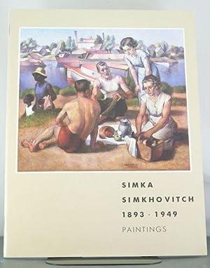 Simka Simkhovitch, 1893-1949: Paintings : Janet Marqusee Fine Arts Ltd: Simkhovitch, Simka