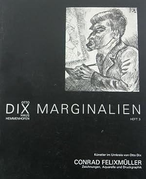 Conrad Felixmuller: Zeichnungen, Aquarelle und Druckgraphik: Felixmuller, Conrad
