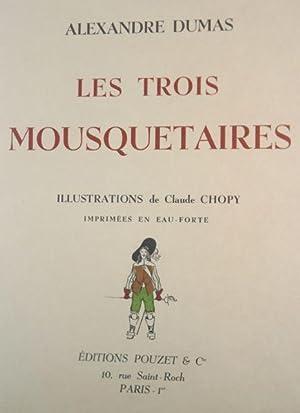 Les Trois Mousquetaires [2 Volumes]: Dumas, Alexandre & Claude Chopy (illustrator)