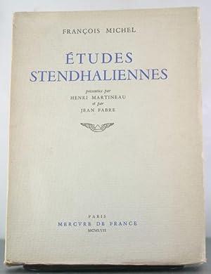 Etudes Stendhaliennes: Michel, Francois