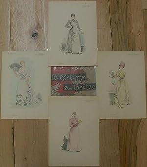 Le Costume au Theatre: Margot: Pochoir]; Meilhac, Henri; Rene-Benoist; Riverend, Le; al., et