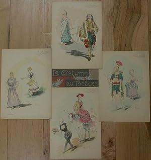 Le Costume au Theatre: Le Voyage de Suzette: Pochoir], Lebegue, Leon; Mobisson, F.; al, et