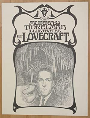 Murray Tinkelman Illustrates H.P. Lovecraft [Signed Poster]: Tinkelman, Murray