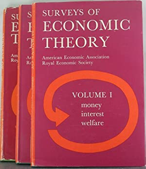 Surveys of Economic Theory. Volume I: Money, Interest and Welfare; Volume 2: Growth and Development...