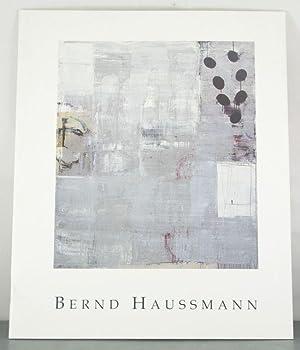 Bernd Haussman: New Paintings: Haussmann, Bernd