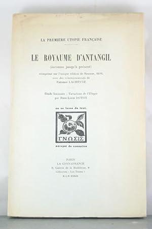 Variations de l'Utopie: Doyon, Rene-Louis; Lachevre, Frederic