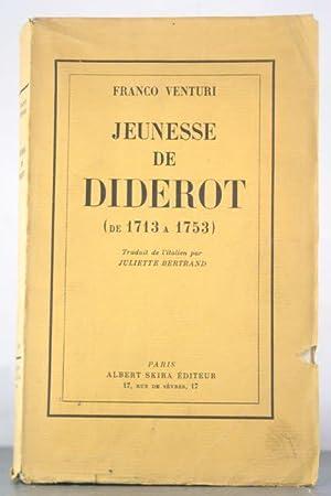 Jeunesse de Diderot (de 1713 a 1753): Venturi, Franco