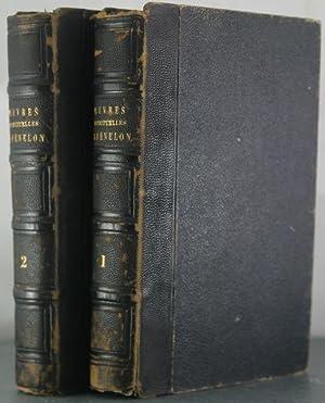 Oeuvres spirituelles de Fenelon (2 volumes): Bookplate], La Mothe Fenelon [Samuel Longfellow