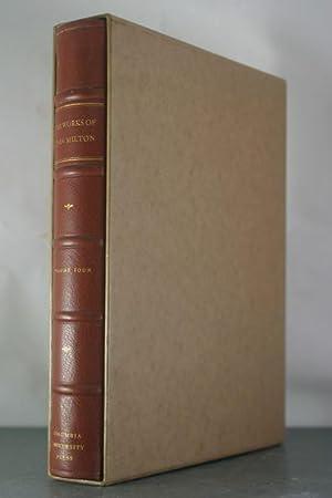 The Works of John Milton, Volume IV: Milton, John