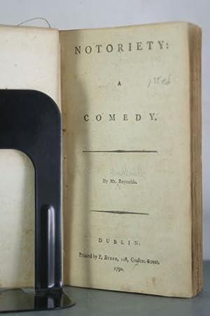 Notoriety: A Comedy: Reynolds, Frederick