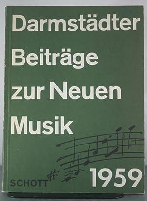 Darmstadter Beitrage zur Neuen Musik II: Worner, Karl (et al)